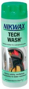 Nikwax Tech Wash 300ml or 1 litre wash in cleaner