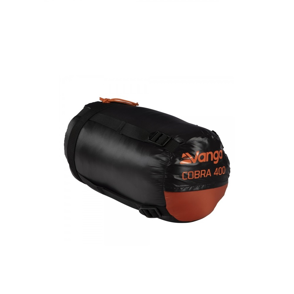 Vango Cobra 400 Down Filled Sleeping Bag (Anthracite)