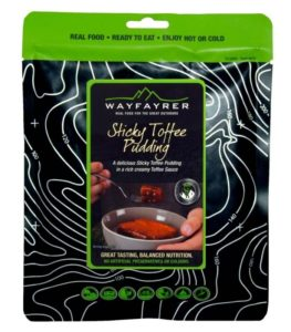 Wayfayrer Sticky Toffee Pudding - Outdoor Camping Ready to Eat Dessert Pouch