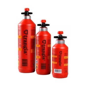 Trangia Fuel Bottles-0.3, 0.5 and 1L with Safety Valve