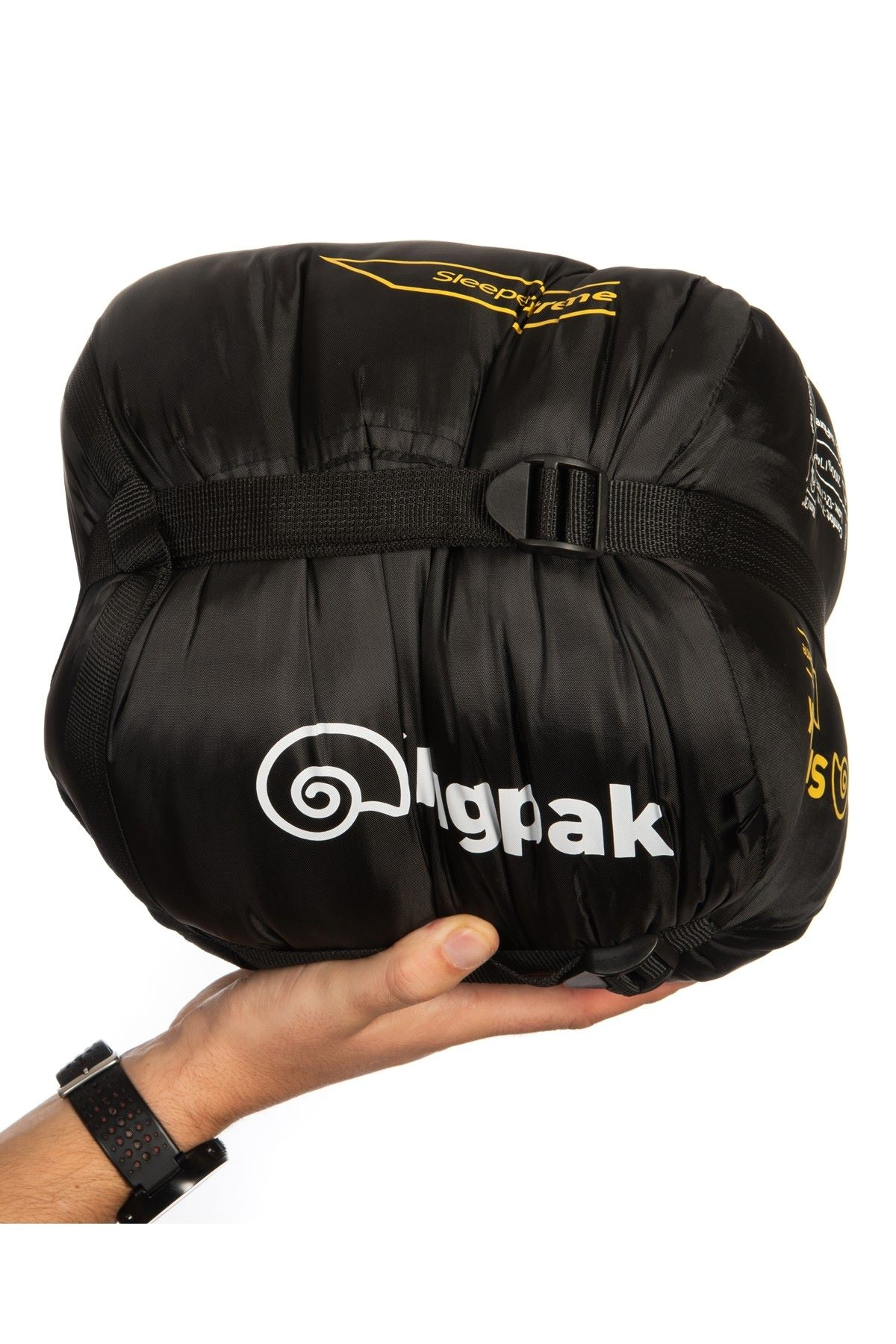 Snugpak Sleeper Extreme (Basecamp) Sleeping Bag - Black