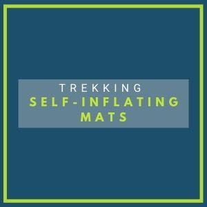 trekking self inflating mats