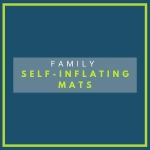 family self inflating mats