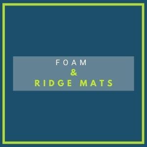 foam & ridge mats